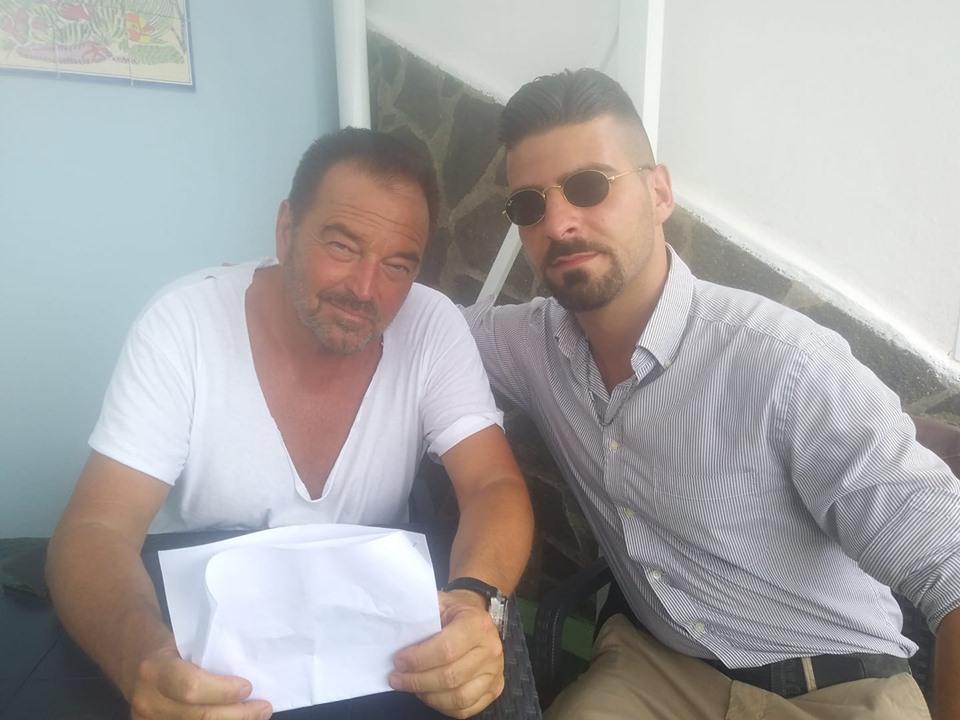 Marco Martire con Sebastiano Somma