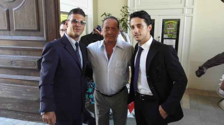 Marco Martire con Tony Sperandeo